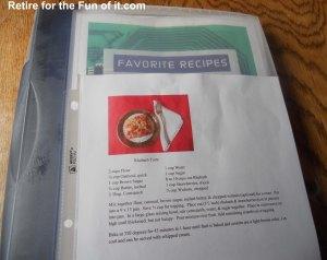 blog recipe copy