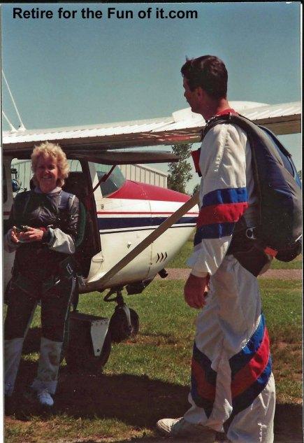 Neva's First Skydive Tandem 1