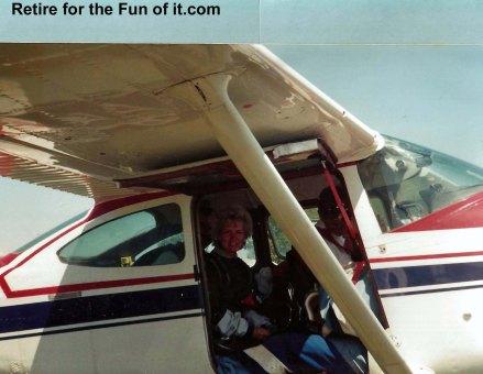 Neva's First Skydive Tandem 2