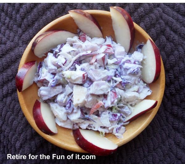 Spring Coleslaw Salad