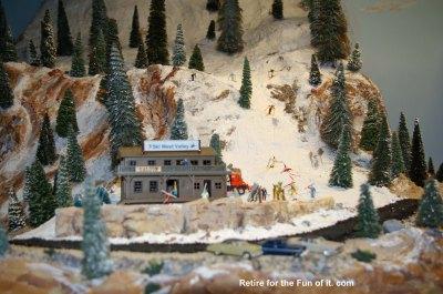 Model Train Ski Hill 2